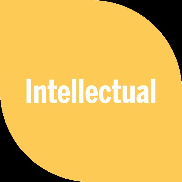 Intellectual on yellow petal